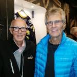 År 2016 oktober honken holmqvist och jag i kinnarps arena